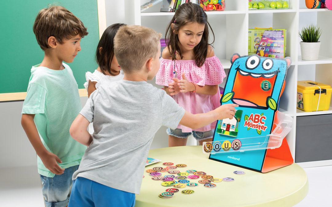 Jugar y aprender el abecedario con ABC Monster