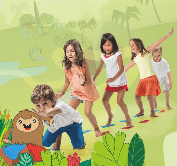Follow the Big Foot: ¡el juego de psicomotricidad infantil más divertido!