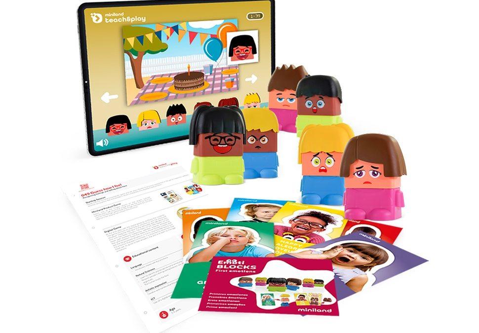 Miniland teach&play, la combinación perfecta de juego físico y digital